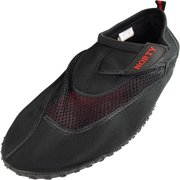 Norty Mens Big Sizes 13-15 Mens Water Shoes for the beach - Waterproof Slip Ons for Pool, Beach and Sports. Extra Size, Extended size, King size Aqua Sock Water Shoes for Big and Tall Men.