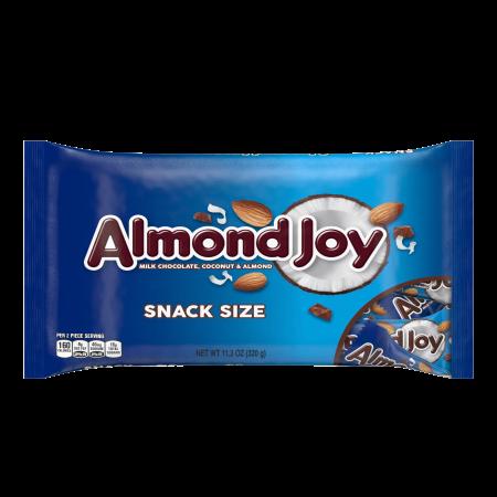 Almond Joy Snack Size Milk Chocolate Coconut & Almond Candy, 11.3 Oz. - Marzipan Halloween Treats