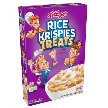 Kellogg's Rice Krispies Treats Breakfast Cereal, 11.6 Oz ...