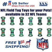 Pets First NFL Buffalo Bills Football Field Pet Toy for DOGS/ CATS. Heavy-Duty, Durable toy with Squeaker