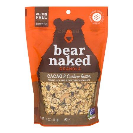 Bear Naked Granola (Bear Naked Gluten Free Granola, Cacao & Cashew Butter, 11 Oz )