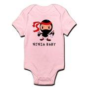 d8ac67653e4 CafePress - Ninja Baby Onesie - Baby Light Bodysuit