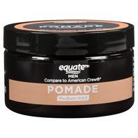 Equate Men Pomade, Medium Hold, 3.8 Oz