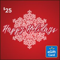 Snowflake $25 Walmart eGift Card