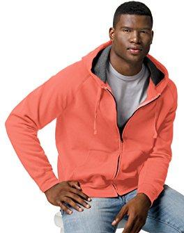 Men's Big Nano Premium Soft Lightweight Fleece Full Zip Hoodie
