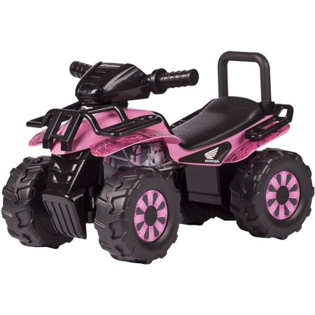 Honda Pink HD Camo Utility ATV Ride-On (Best Atf For Honda)
