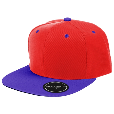 Plain Adjustable Snapback Hats Caps (Many Colors) Red | Blue One Size](Pharoh Hat)