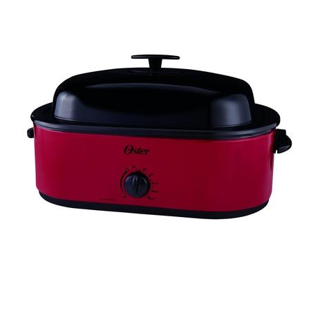 Oster 24 Pound 18 Quart Turkey Roaster Oven (Oster 22 Quart Roaster Oven Buffet Server Insert)