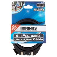 Brink's High Security 6 ft x 3/8 in Cable