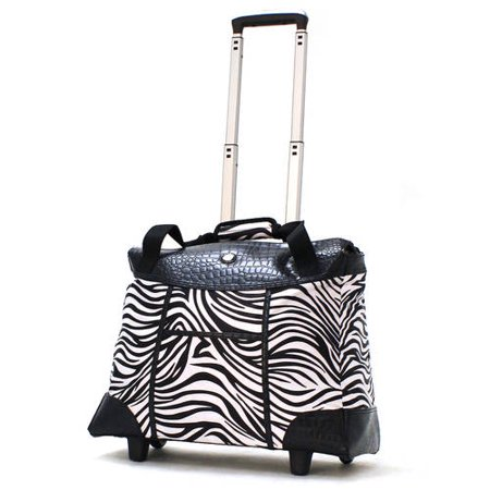 Olympia USA Deluxe Luggage Fashion Rolling Tote (Rolling Fashion Tote Bags)