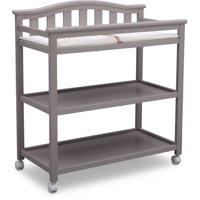Delta Children Bell Top Changing Table with Casters, (Choose Your Color)