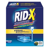 RID-X Septic Treatment, 4 Month Supply Of Powder, 39.2oz