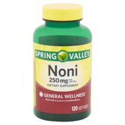 Spring Valley Noni Softgels, 250 mg, 120 count