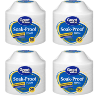 Great Value Soak-Proof Foam Bowls, 12 oz, 50 Count