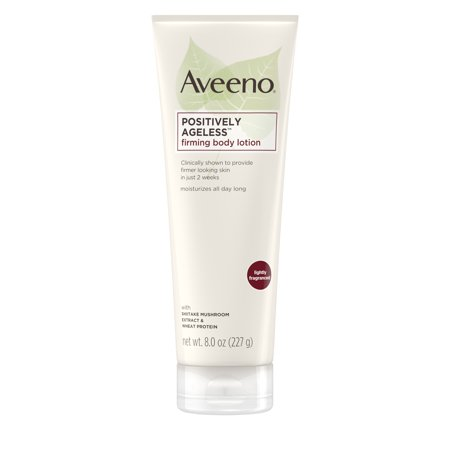 Radiance Sheer Body Lotion (Aveeno Positively Ageless Anti-Aging Firming Body Lotion, 8 oz )
