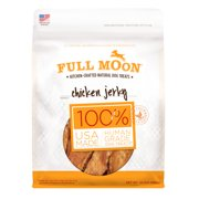 Full Moon All Natural Human Grade Dog Treats, Chicken Jerky, 24 Ounce