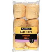 Marketside Bake at Home Ciabatta Rolls, 6 ct, 10 oz