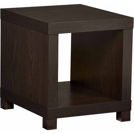 Better Homes & Gardens Accent Table, Multiple (Mahogany Square Side Table)