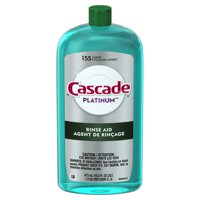 Cascade Platinum Rinse Aid, 16 ounces