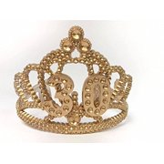 30th Birthday Princess Tiara Gold Crown Party Plastic