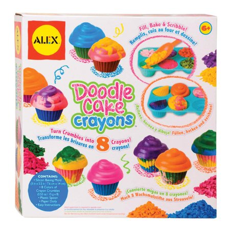 ALEX Toys Craft Make Your Own Cupcake Crayons (Make Your Own Stepping Stones)