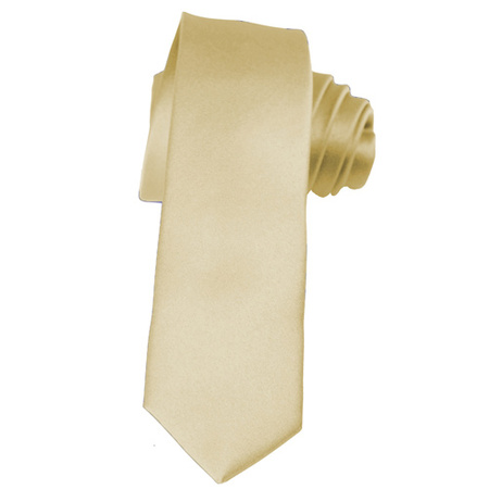 - Skinny Champagne Ties by K. Alexander 2 Inch Solid Mens Neckties