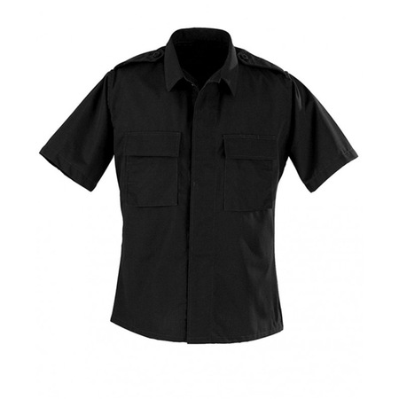 BDU Durable Polyester Cotton Ripstop Military Uniform Short Sleeve Shirt