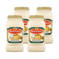 (4 Pack) Bertolli Alfredo Sauce 15 oz
