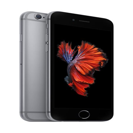 Walmart Family Mobile Apple iPhone 6s 32GB Prepaid Smartphone, Space Gray (cricket 4g phones for sale)