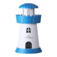 Lamp Humidifier Lighthouse LED Humidifier Air Diffuser Purifier Atomizer