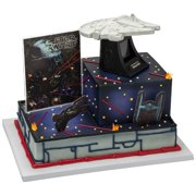 Star Wars Millennium Falcon Cake Topper 4 Pieces