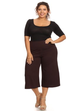 Plus Size Women's Gaucho Pants