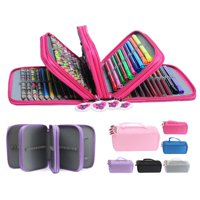 Pen Pencil Case Cosmetic Travel Cosmetic Brush Makeup Storage Bags Pouch Box