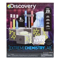 Discovery Extreme Chemistry Lab Kit for Kids