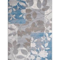 Home Dynamix Tremont Collection Modern Floral Area Rug