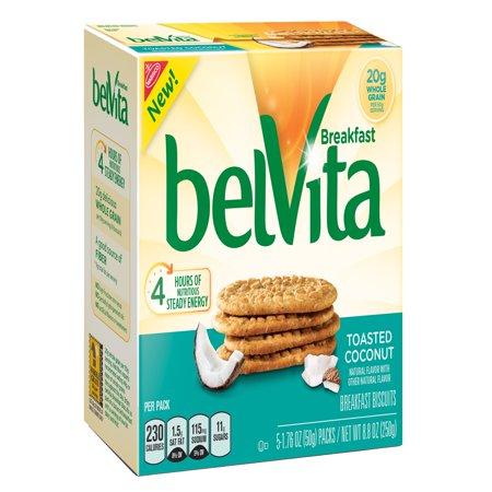- belVita Toasted Coconut Breakfast Biscuits, 8.8 Oz.