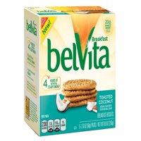 (6 Pack) Belvita Toasted Coconut Breakfast Biscuits, 8.8 Oz