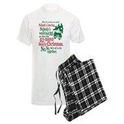 CafePress - Family Christmas - Men's Light Pajamas