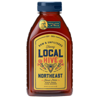 Local Hive Northeast Raw & Unfiltered Honey, 16 oz