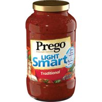 (2 Pack) Prego Lower Calorie Traditional Italian Sauce, 23.5 oz