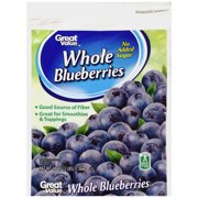Great Value Whole Blueberries, 48 oz