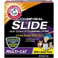 Arm & Hammer SLIDE Easy Clean-Up Litter, Multi-Cat, 28lb