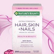 5 Best Hair Skin And Nails Vitamins of 2019 | MSN Guide: Top Brands ...