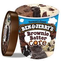 Ben & Jerry's Brownie Batter Core Ice Cream, 16 oz