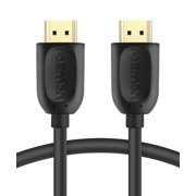 HDMI Cable, Fosmon Gold Plated High Speed [UHD 4K 2160p | HD 1080p | 3D] Eternet & Audio Return HDMI Cord for HDTV, Nintendo Switch, PS3, PS4 Slim/Pro, Xbox 360/One S, PC & More
