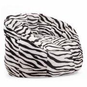 Cocoon Faux Fur Bean Bag Chair, Multiple Colors