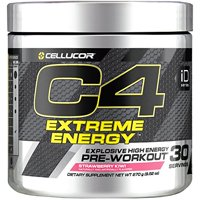 Cellucor C4 Extreme Energy Pre Workout Powder, Strawberry Kiwi, 30 Servings
