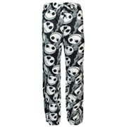 Disney Nightmare Before Christmas Jack Skellington Fleece Lounge Pajama Pants