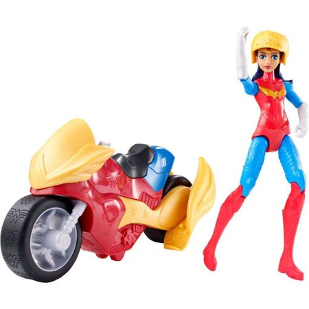 DC Super Hero Girls Wonder Woman & Motorcycle Doll - Superhero Girl