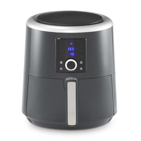 La Gourmet 6-Qt. Digital Air Fryer and Convection Oven, Charcoal